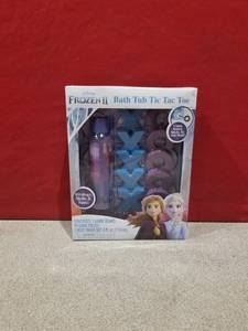Disney Frozen 2 Bath Tub Toy Tic Tac Toe Game - W/ Elsa Anna Body Wash For Kids
