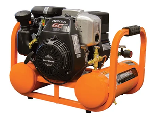 Industrial Air Industrial Air Contractor 4-Gallon Single Stage Portable Gas Horizontal Air Compressor Retail $580.00