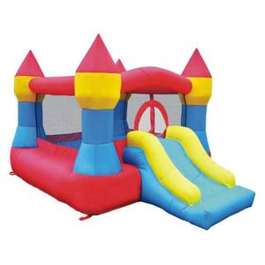 Inflatable Bounce House Castle w/ Slide