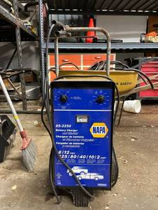 Napa Battery Charger And Starter