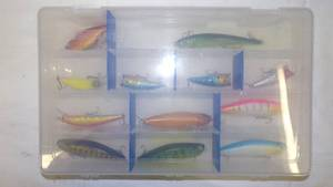 CONTAINER OF FISHING LURES