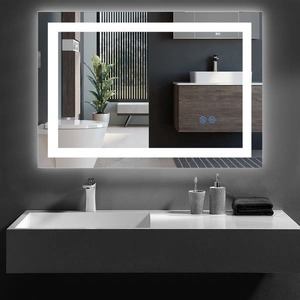 Wall Mounted LED Lighted Bathroom Mirror Retail:$208.99
