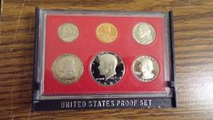 1981 PROOF SET W/BOX