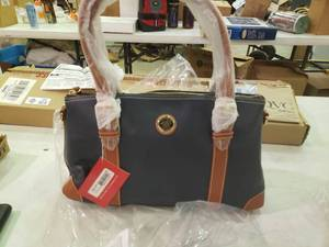 New* Dooney & Bourke Large Domed Satchel