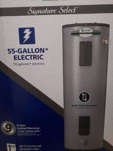 Signature Select AO Smith 55 Gallon Electric Water Heater