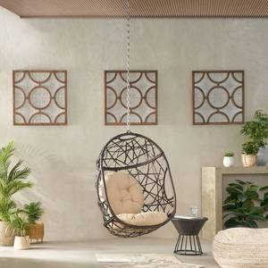 Simone Wicker Hanging Chair by Christopher Knight Home Retail $359.99