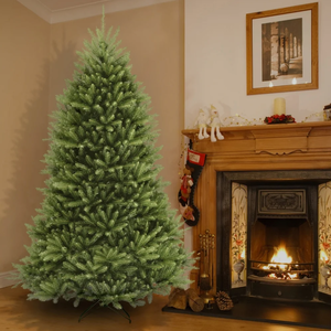 9 ft. Dunhill Fir Hinged Artificial Christmas Tree by National Tree Company- Retail:$467.49