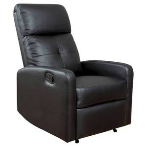 Samedi PU Leather Recliner Club Chair by Christopher Knight Home- Retail:$327.99