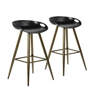 Silver Orchid Melies Fixed Height Bar Stool (Set of 2)- Retail:$128.99