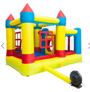 Thick Oxford Cloth Inflatable Bounce House Castle Ball Pit Jumper Kids Play Castle Multicolor Retail:$549.99