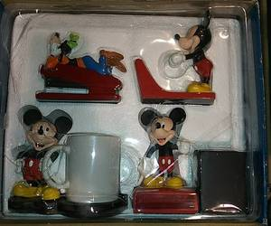 Vintage Mickey Mouse Desk Set. In Factory Box