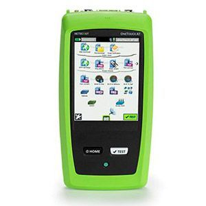 NetScout OneTouch AT G2 Ethernet and Wi-Fi Tester - Fiber Optic Cable Testing, Twisted Pair Cable Testing, Coaxial Cable Testing, Wireless Signal Strength Testing, Wiremap, PoE Testing, VoIP Testing, Retail: $7,843.33