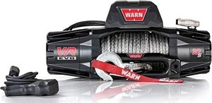 "WARN 103253 VR EVO 10-S Electric 12V DC Winch with Synthetic Rope: 3/8"" Diameter x 90' Length, 5 Ton (10,000 lb) Pulling Capacity Retail: $789.00"