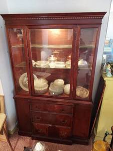 Lighted China Cabinet - Contents Not Included