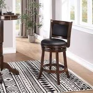 Augusta 24-inch Swivel Counter Stool