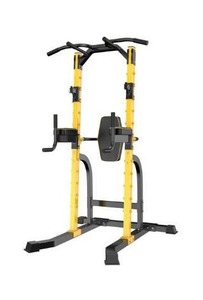 Ainfox Power Tower Multi-Function Home Strength Training Tower - Yellow- Retail Value $331.99