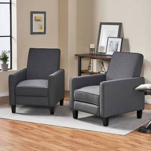 Darvis Contemporary Fabric Recliner