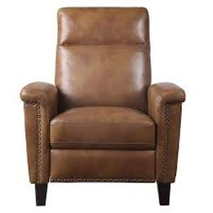Brown Push Back Reclining Chair