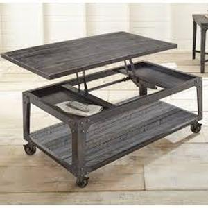 Springdale Industrial Style Rectangle Lift Top Coffee Table by Greyson Living