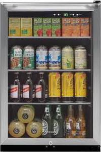 Frigidaire 138-Can Capacity (4.6-cu ft) Residential Stainless Steel Freestanding Beverage Center $399.99