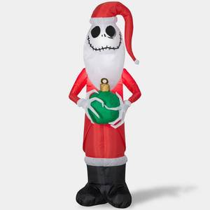 Disney 4ft the Nightmare Before Christmas Jack Skellington Inflatable Christmas Decoration