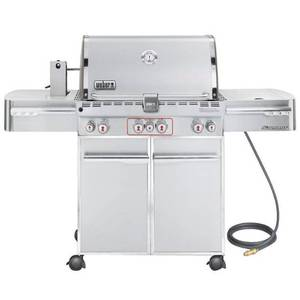Weber Summit S-470 Natural Gas Grill Model 7270001 - can be converted to propane Retail $2200.00