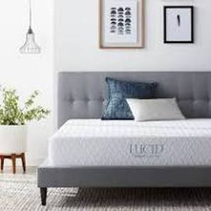 LUCID Comfort Collection 10-inch Luxury Gel Memory Foam Mattress- Retail:$199.99