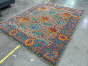 7.9' x 9.9' Colorful Area Rug