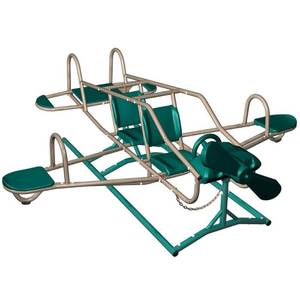 Lifetime Ace Flyer Multi-color Airplane Outdoor Teeter-totter- Retail:$333.99