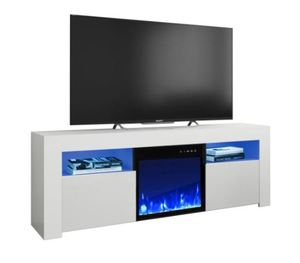 Copper Grove Qorasuv 58-inch Electric Fireplace TV Console (Fully Assembled)- Retail:$532.49