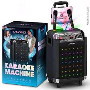 Karaoke Machine For Adults & Kids