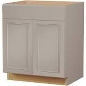 Diamond Now 30 inch base cabinet gray