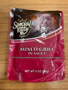 Select Special Kitty Gourmet Cat Food