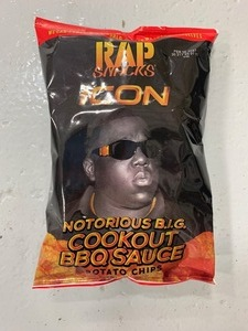 Rap Snacks Icon Notorious B.i.g Cookout Bbq Sauce 2.75oz- Box of 24