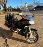 1987 Honda Goldwing 1200A Motorcycle with Cruise Control and Air Compressor - WATCH VIDEO