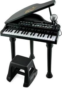 Symphonic Grand Piano Set with a Detachable Microphone.