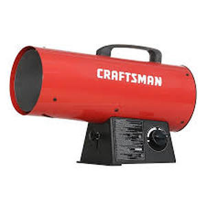 Craftsman Forced Air Propane 60000-btu Portable Forced Air Heater