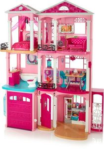 Barbie Dream House, Pink, Dollhouses