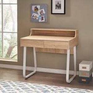 Seanan Wood Computer Desk with Drawers