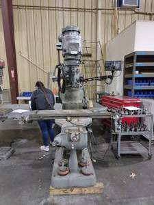Bridgeport Series I Milling Machine-- In Working Condition