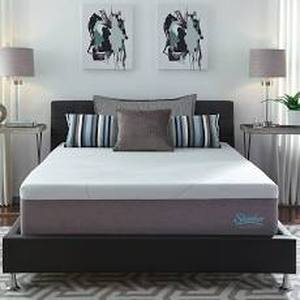 KING SIZE Slumber Solutions Choose Your Comfort 14-inch Gel Memory Foam Mattress
