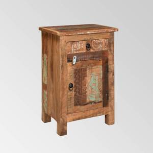 Wittwer Distressed Recycled Wood End Table by Christopher Knight Home - Distressed Paint Finish