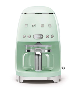 SMEG - Vintage, Green, 10 cup Coffee Maker