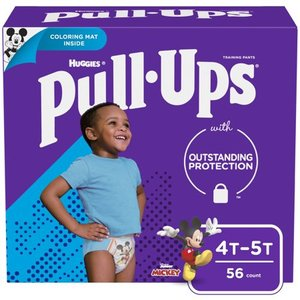 Huggies Pull Ups Learning Designs Training Pants Giga Pack * 4T/5T * 56 Pack