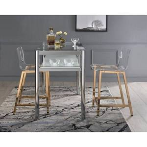 Silver Orchid Svendsen Clear Acrylic Counter Stools * Set of 2