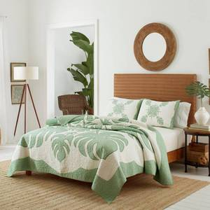 Full/Queen Molokai Quilt Bright Green - Tommy Bahama