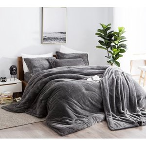 BYB Charcoal Coma Inducer Queen Comforter- Retail:$137.99