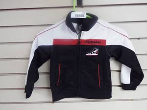 Jordan zip up jacket, size 3T.