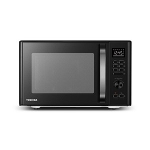 Toshiba 1.0 cu ft Multi-function 6 in 1 Microwave Black Stainless Steel ml-AC28S(BK) {Retail $149.99}