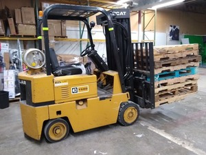 Caterpillar T50D Forklift * Triple Mast * Dual Fuel